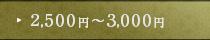 2,000円~2,500円